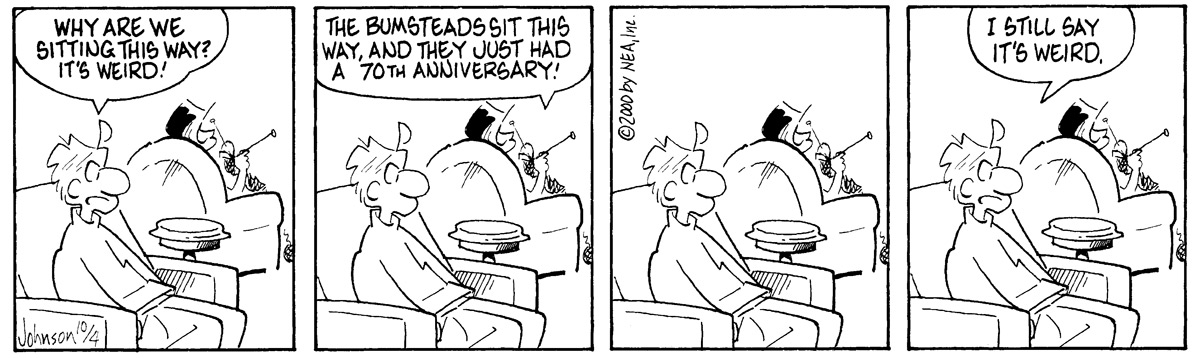 Arlo and Janis for Oct 4, 2000 Comic Strip