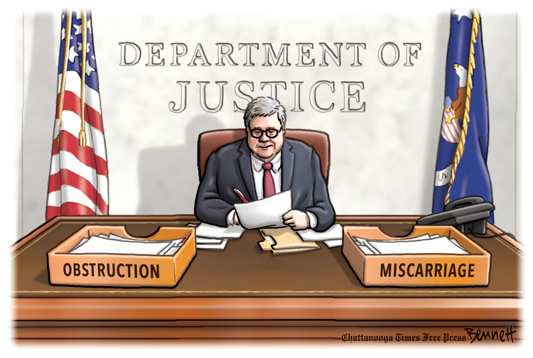 Clay Bennett by Clay Bennett on Sat, 16 May 2020