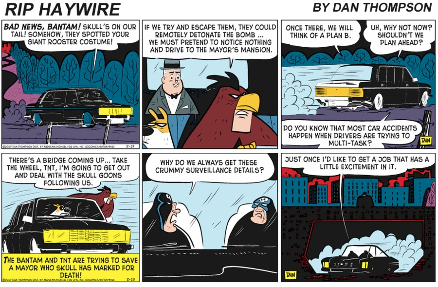 Rip Haywire Comic Strip for January 31, 2021