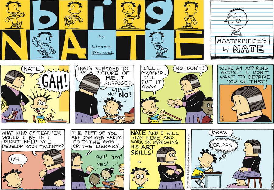 Big Nate for Sep 15, 2013 Comic Strip