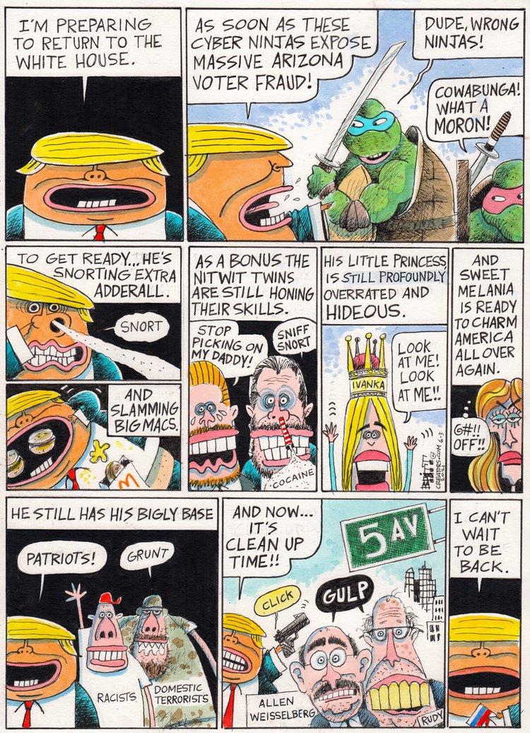 Chris Britt Comic Strip for June 03, 2021