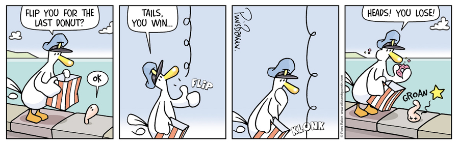 Ollie and Quentin Comic Strip for June 15, 2019