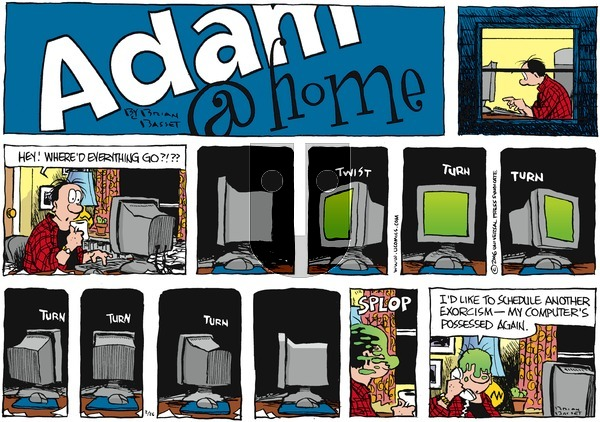 Adam@Home on Sunday February 26, 2006 Comic Strip