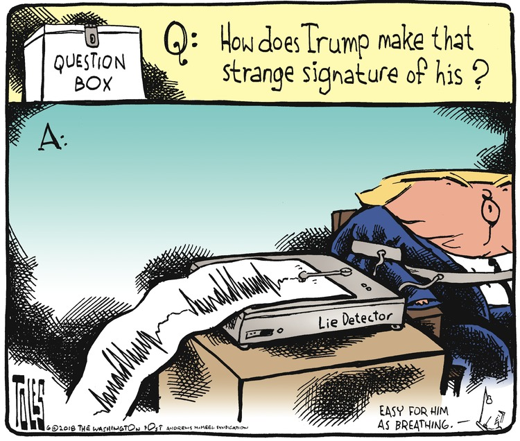 Tom Toles for Jun 24, 2018 Comic Strip