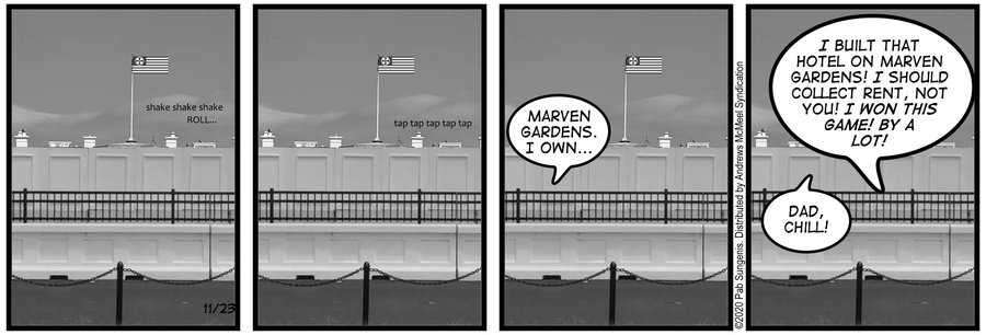 New Adventures of Queen Victoria Comic Strip for November 23, 2020