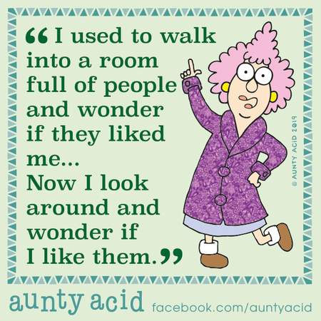 Aunty Acid Comic Strip for December 14, 2019