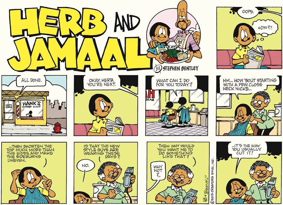 Herb and Jamaal for Jul 28, 2013 Comic Strip