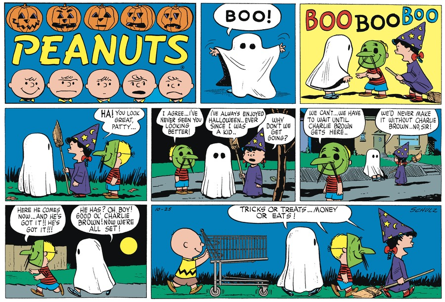 Peanuts Begins by Charles Schulz on Fri, 22 Oct 2021