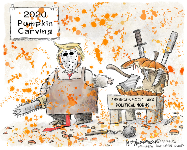 Nick Anderson Comic Strip for October 31, 2020