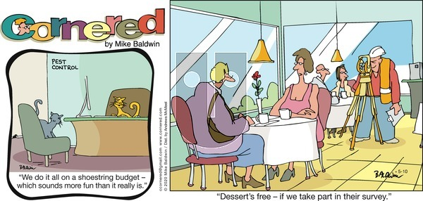 Cornered on Sunday May 10, 2020 Comic Strip