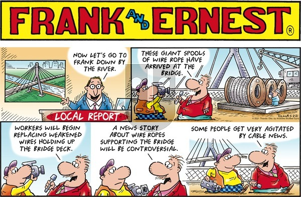 Frank and Ernest - Sunday February 21, 2021 Comic Strip