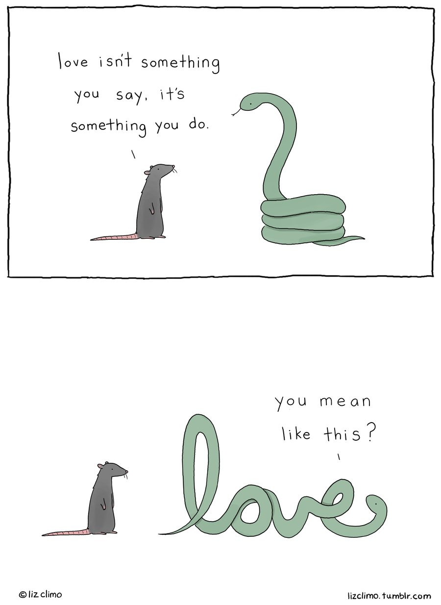 Liz Climo Cartoons Comic Strip for February 14, 2021