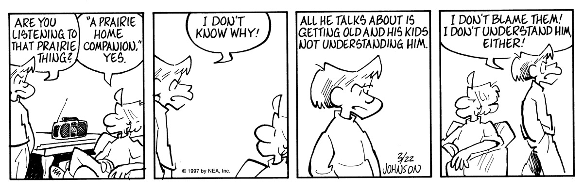 Arlo and Janis for Mar 22, 1997 Comic Strip