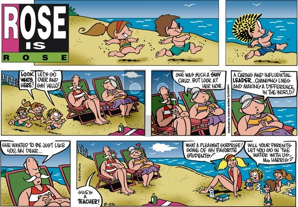 Rose is Rose - Sunday August 25, 2019 Comic Strip