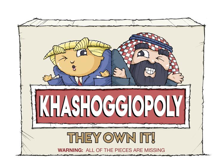Tim Campbell Comic Strip for December 07, 2018