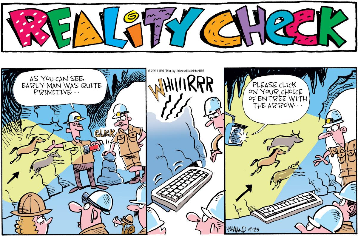 Reality Check for Sep 25, 2011 Comic Strip