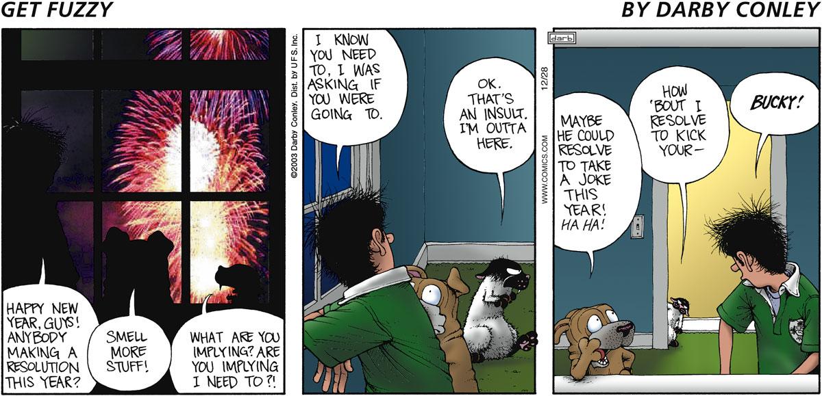 Get Fuzzy for Dec 28, 2003 Comic Strip
