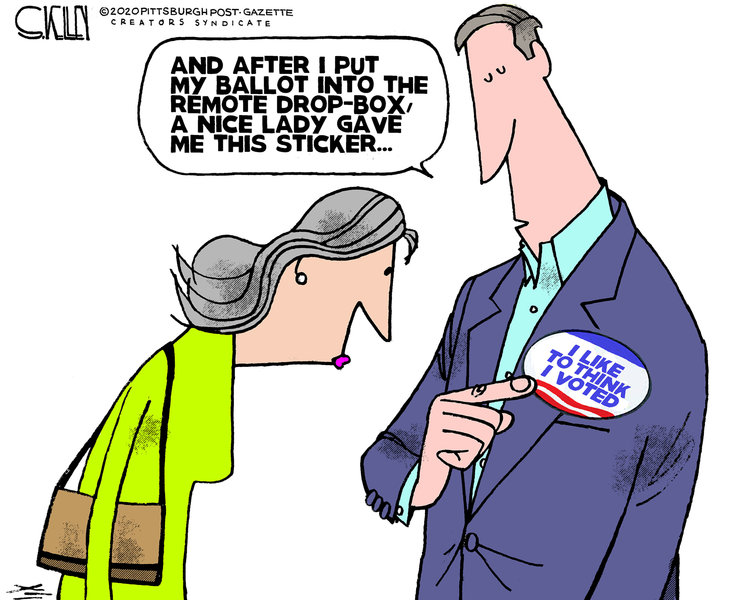 Steve Kelley Comic Strip for October 23, 2020