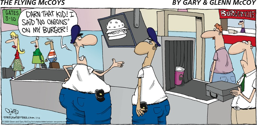 The Flying McCoys Comic Strip for July 14, 2019
