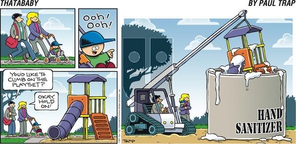Thatababy - Sunday May 9, 2021 Comic Strip