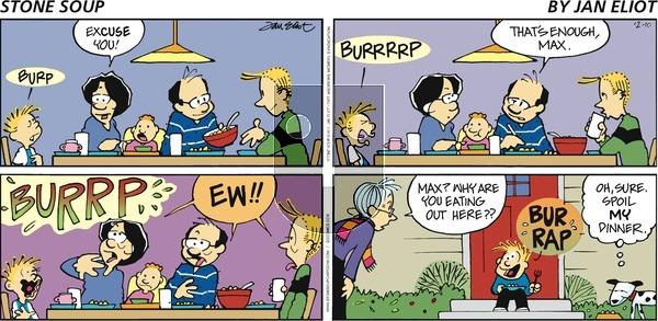 Stone Soup on Sunday December 10, 2017 Comic Strip