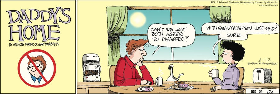 Daddy's Home Comic Strip for February 12, 2017