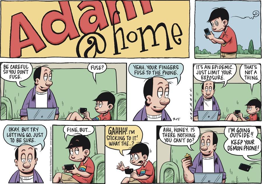 Adam@Home Comic Strip for September 15, 2019