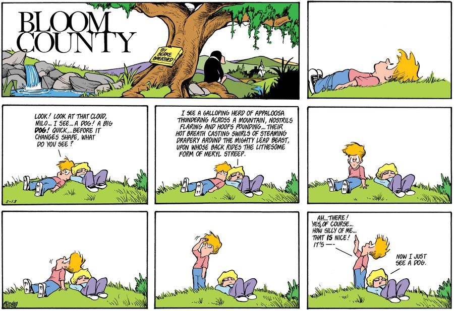 Bloom County Comic Strip for March 26, 2020