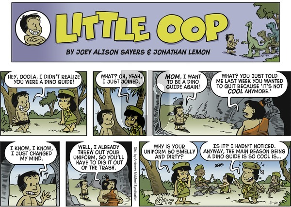 Alley Oop on Sunday March 10, 2019 Comic Strip