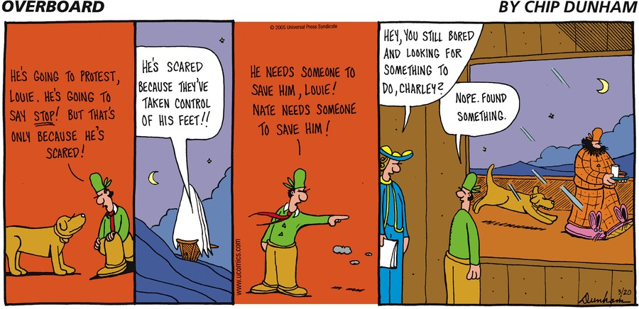 Overboard for Mar 20, 2005 Comic Strip