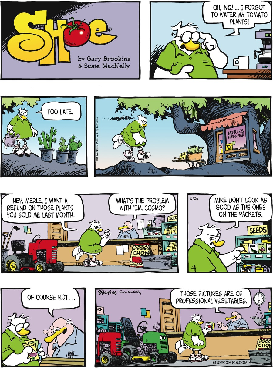 Shoe for May 26, 2013 Comic Strip