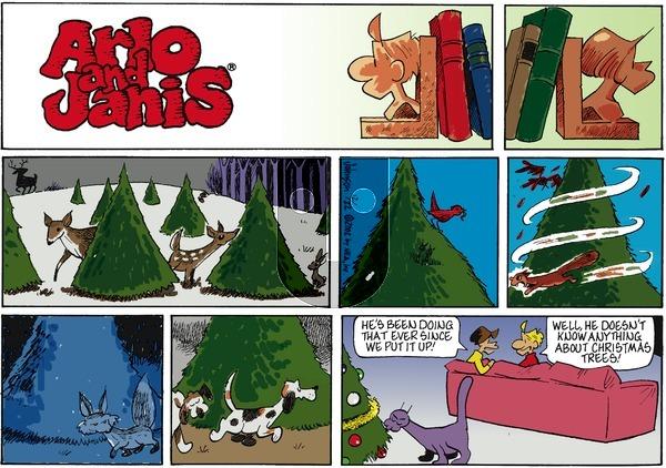 Arlo and Janis on Sunday December 22, 2002 Comic Strip