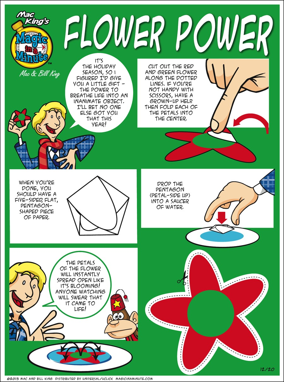 Magic in a Minute Comic Strip for December 20, 2015