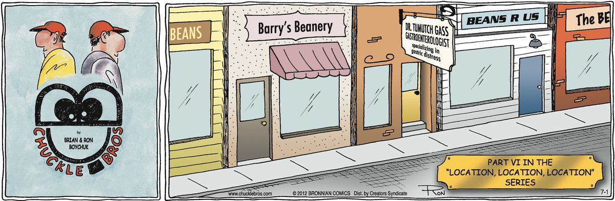 Chuckle Bros Comic Strip for July 01, 2012