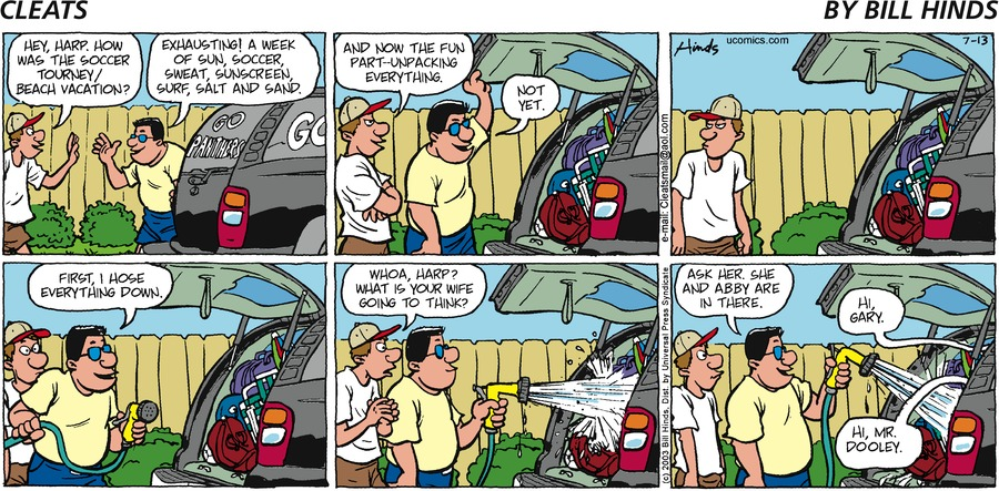 Cleats Comic Strip for June 21, 2021