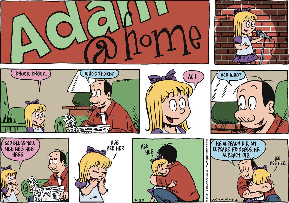 Adam@Home Comic Strip for April 29, 2012