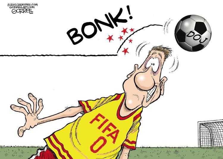 Bob Gorrell Comic Strip for May 28, 2015