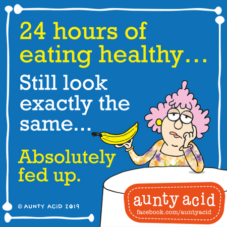 Aunty Acid by Ged Backland for August 31, 2019
