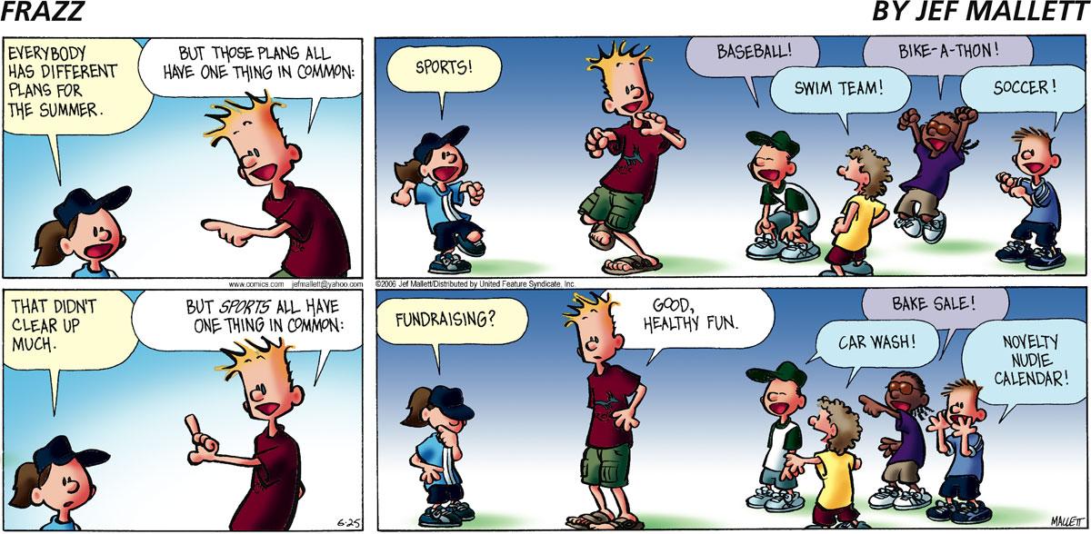 Frazz Comic Strip for June 25, 2006