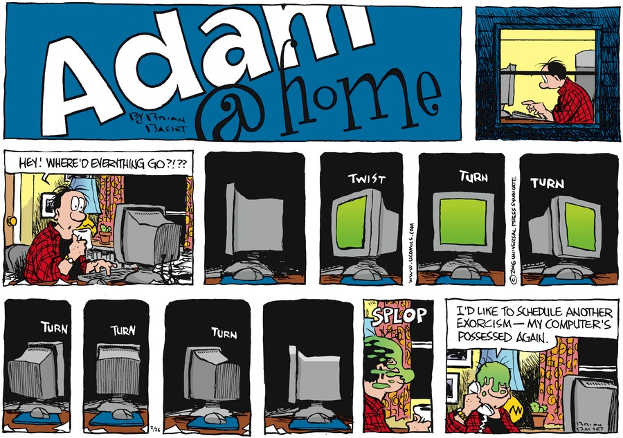 Adam@Home for Feb 26, 2006 Comic Strip