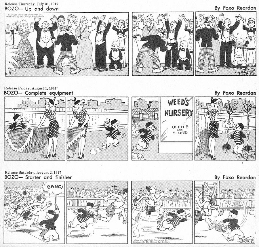 Bozo Comic Strip for June 13, 2021