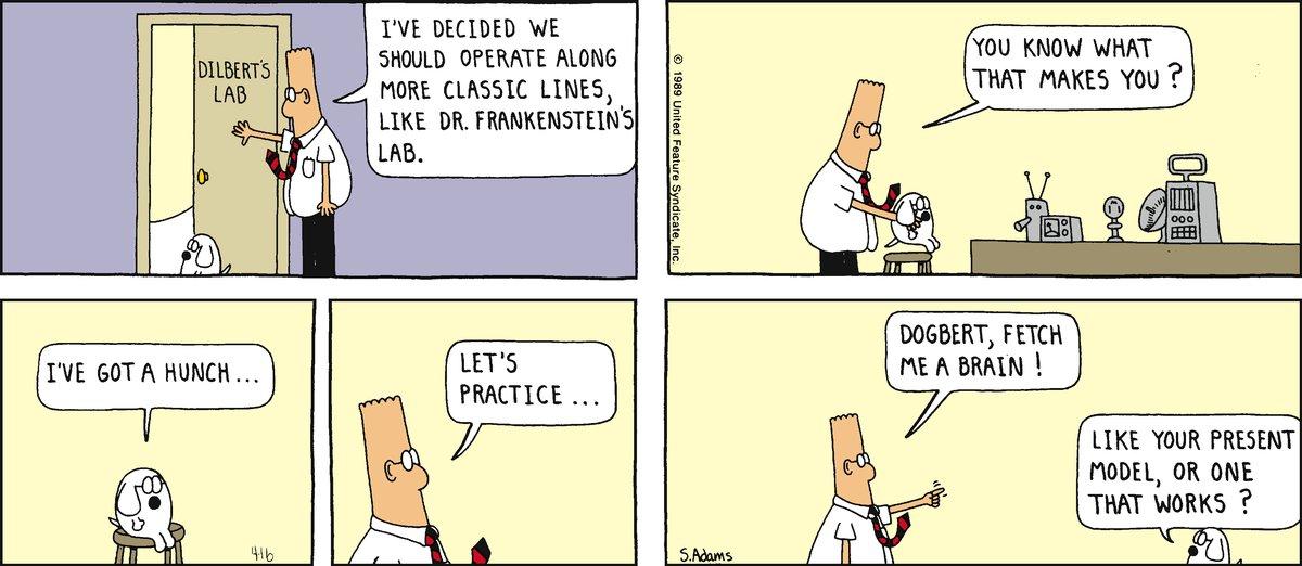 Dilbert Classics Comic Strip for June 17, 2012