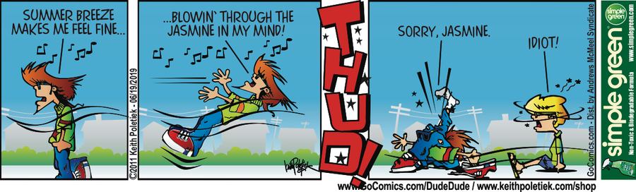 Dude and Dude Comic Strip for June 19, 2019