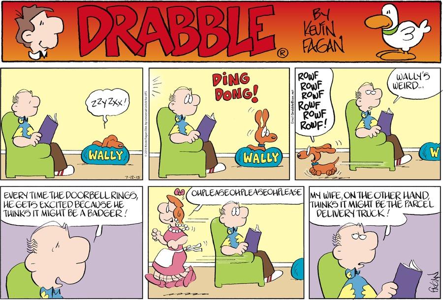 Drabble for Jul 12, 2015 Comic Strip