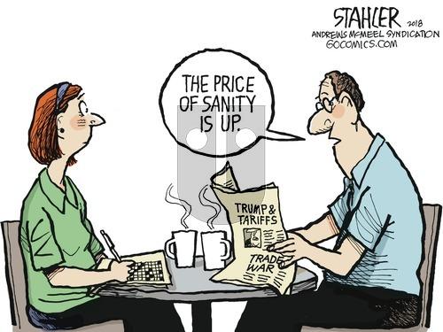 Jeff Stahler on Sunday June 3, 2018 Comic Strip