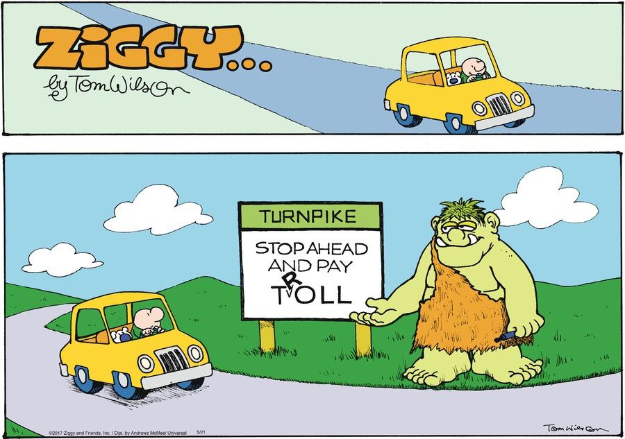 Ziggy Comic Strip for May 21, 2017