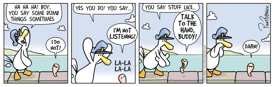 Ollie and Quentin for Mar 7, 2018 Comic Strip