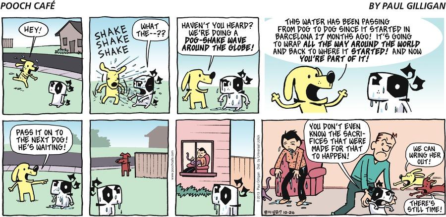 Pooch Cafe Comic Strip for October 20, 2013