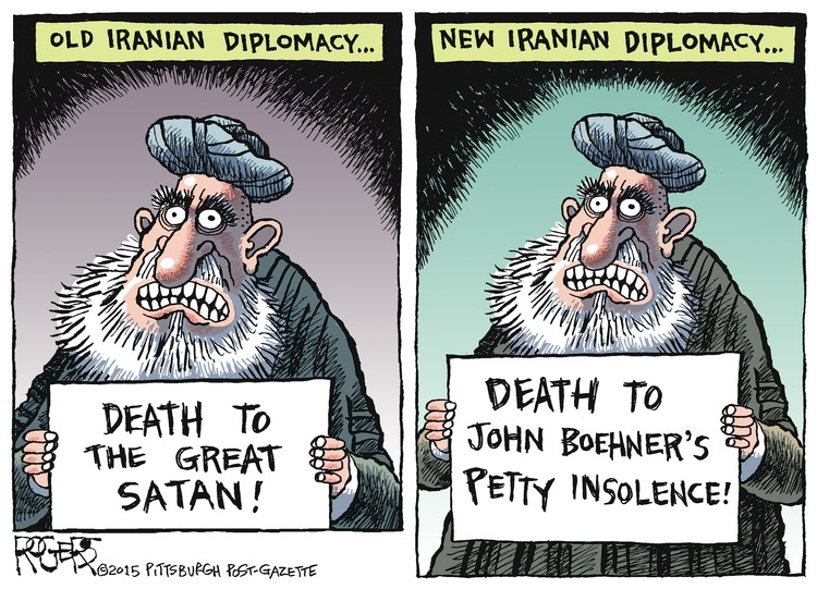 Rob Rogers Comic Strip for January 25, 2015