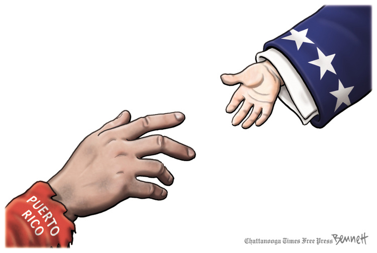 Clay Bennett for Oct 2, 2017 Comic Strip
